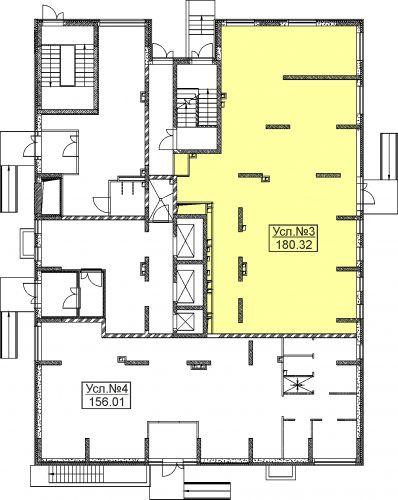 Торговое помещение в ЖК «Дуэт», 180,9 м2 за 33 000 001 руб.