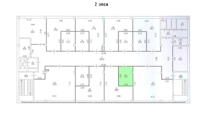 Торговое помещение в ТЦ «Дуэт», 11,5 м2 за 26 450 руб.