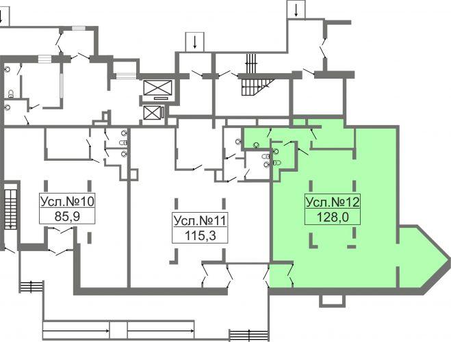 Торговое помещение в ЖК «Лидер Парк Мытищи», 128 м2 за 20 480 000 руб.