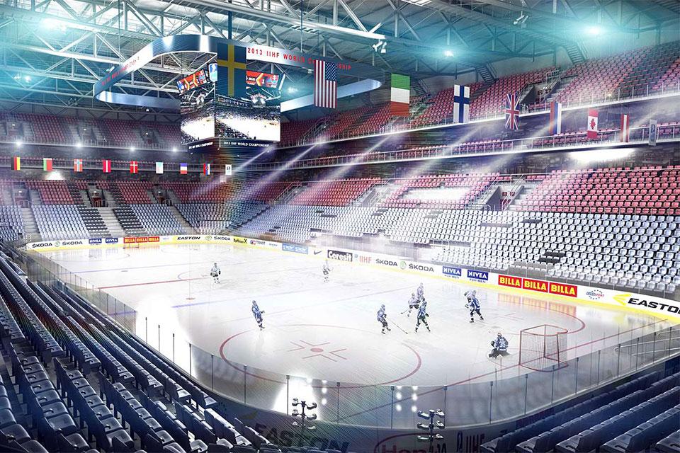 Ледовый дворец ЦСКА Арена