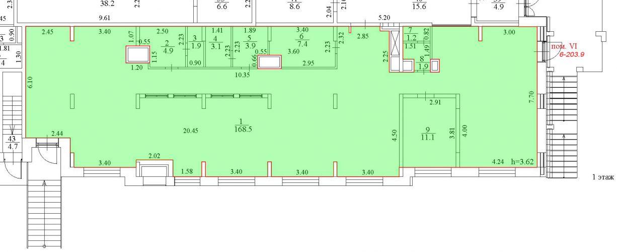 ПСН в ЖК «ЖК Лидер Парк Мытищи», 203,9 м2 за 221 232 руб.