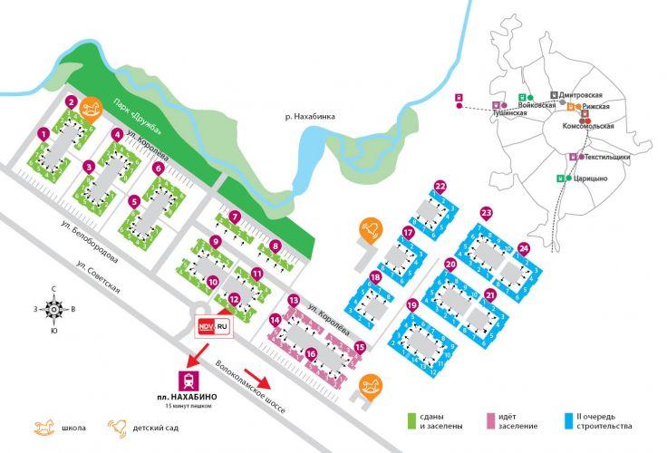 Продажа коммерческой недвижимости в ЖК «Красногорский» в городе Красногорск в рабочем поселке Нахабино
