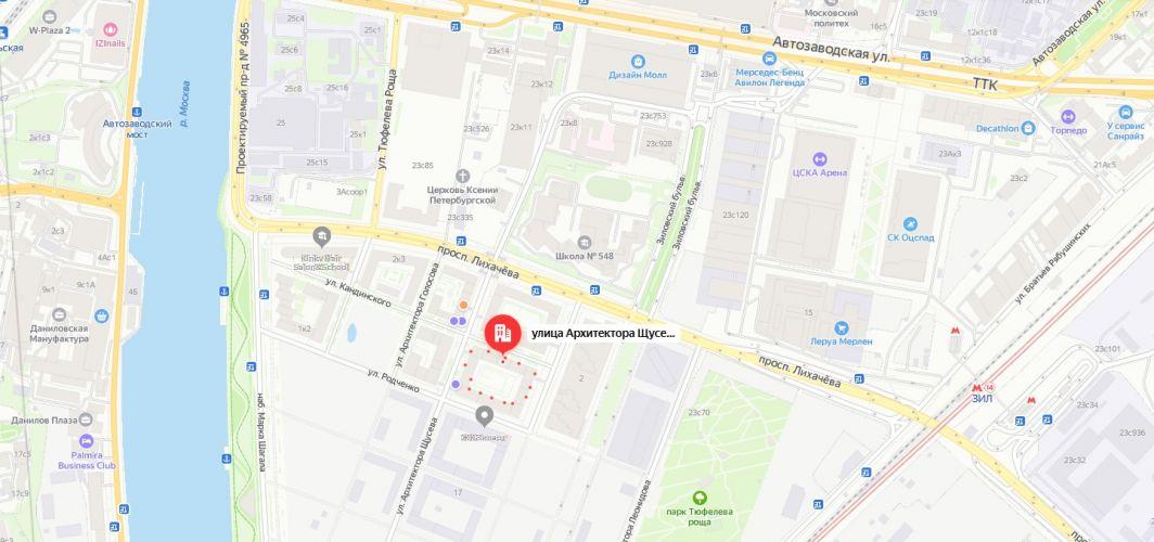 Аренда коммерческой недвижимости в ЖК «Зиларт» в Москве
