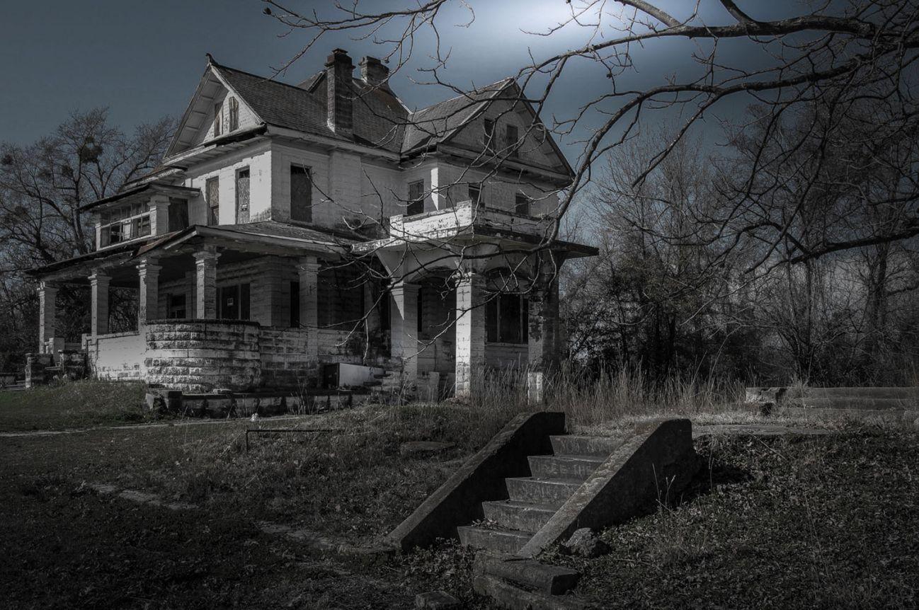 Картинка заброшенного дома призрака медицинский колледж