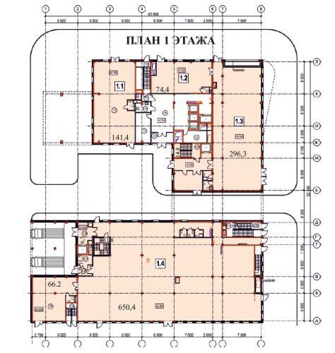 ПСН в жилом доме «Комплекс апартаментов Nord», 74,4 м2 за 11 160 000 руб.