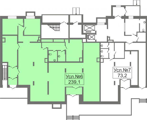 ПСН в ЖК «Лидер Парк Мытищи», 239,1 м2 за 28 692 000 руб.