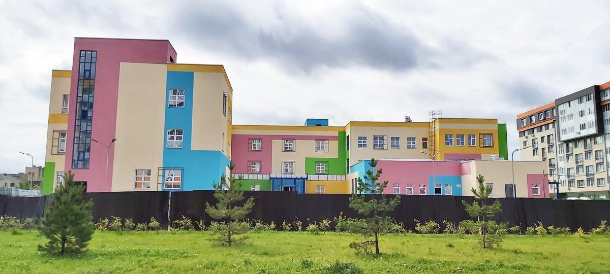 Детский сад практически готов