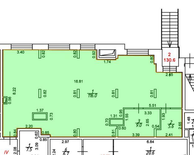 ПСН в ЖК «ЖК Лидер Парк Мытищи», 130,6 м2 за 141 701 руб.