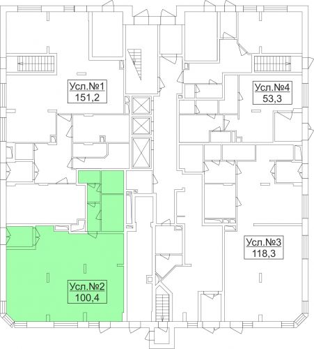Арендный бизнес в ЖК «Лидер Парк Мытищи», 100,4 м2 за 13 052 000 руб.