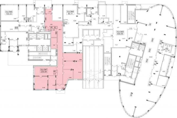 ПСН в жилом доме «Планерный», 230,94 м2 за 57 735 000 руб.