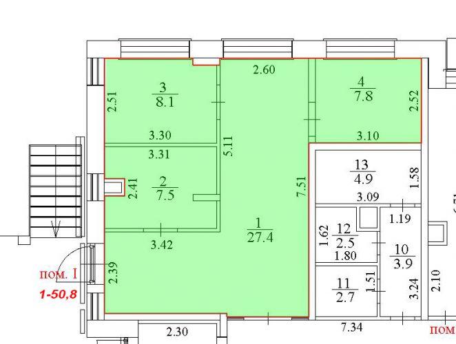 ПСН в ЖК «Лидер Парк Мытищи», 50,8 м2 за 55 118 руб.