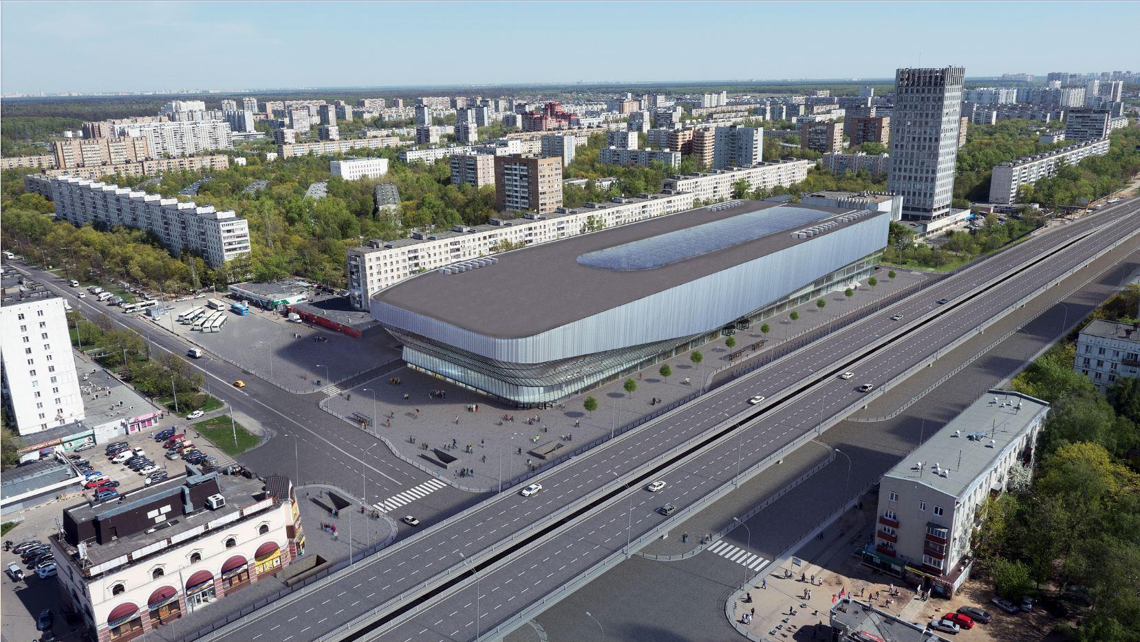 """""""Щелковский"""" автовокзал приобретает новый облик"""