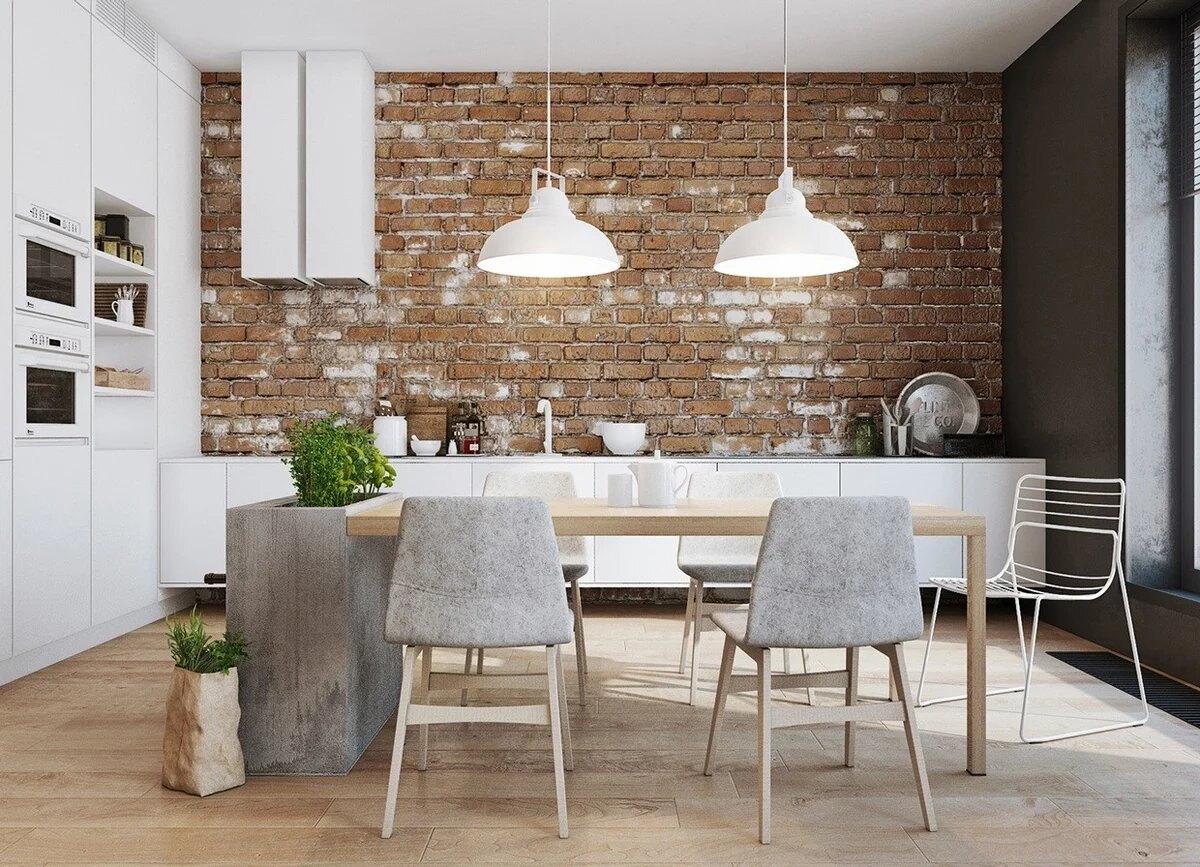 Кухня в стиле лофт: как создать богемный интерьер на 9 кв. метрах