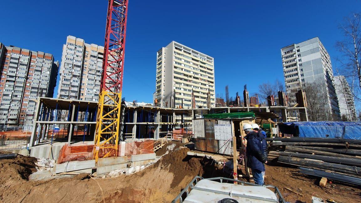 Ход строительства 11-го корпуса