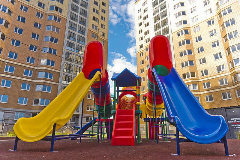 Безопасные детские площадки в ЖК «Восточный»
