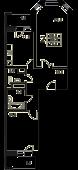 2-комнатная квартира 71,9 м²