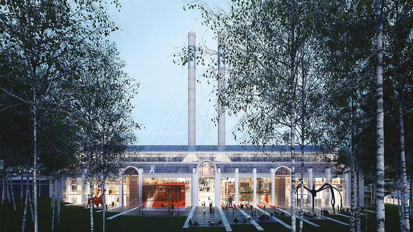 На месте ГЭС‑2 появится арт-центр