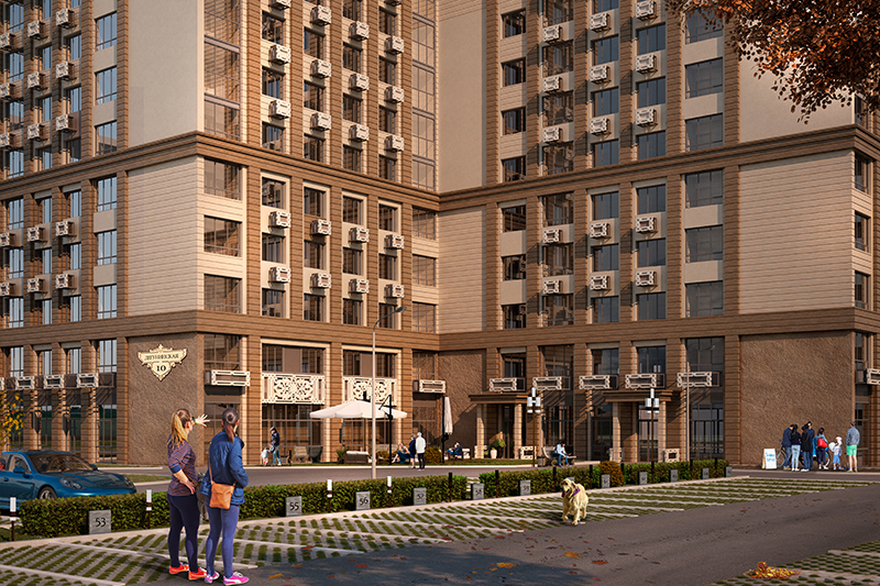 Жилой дом «Дуэт»: новости со строительной площадки