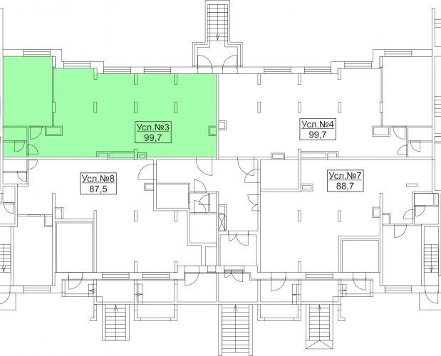 ПСН в ЖК «Лидер Парк Мытищи», 99,7 м2 за 12 961 000 руб.