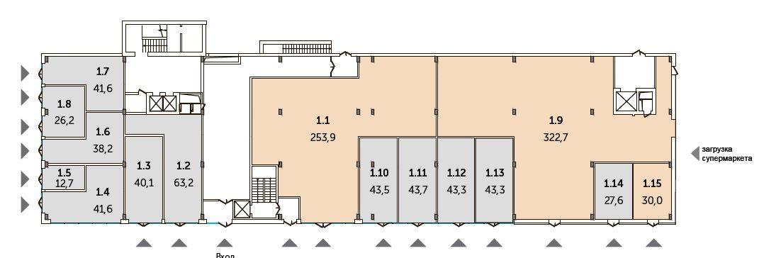 Арендный бизнес в ЖК «Комплекс апартаментов VIVALDI», 382 м2 за 125 499 999 руб.