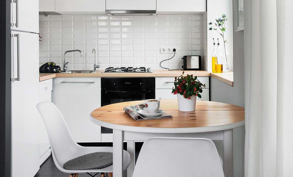 Кухня 6 метров. Жить можно.