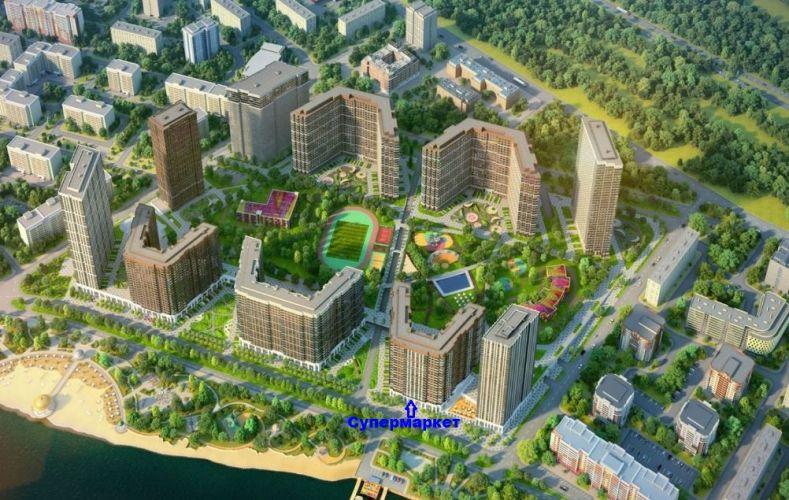Аренда торгового помещения в ЖК «Сердце столицы» в районе Пресненский