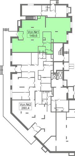 Торговое помещение в ЖК «Лидер Парк Мытищи», 195,4 м2 за 29 310 000 руб.