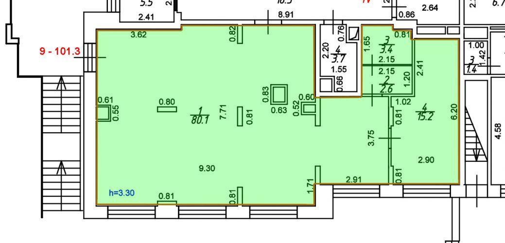 ПСН в ЖК «ЖК Лидер Парк Мытищи», 101,3 м2 за 109 911 руб.