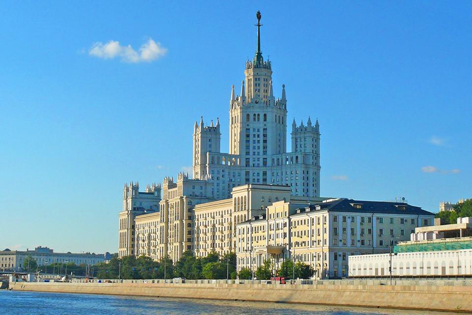 Вид на набережную Москва-реки
