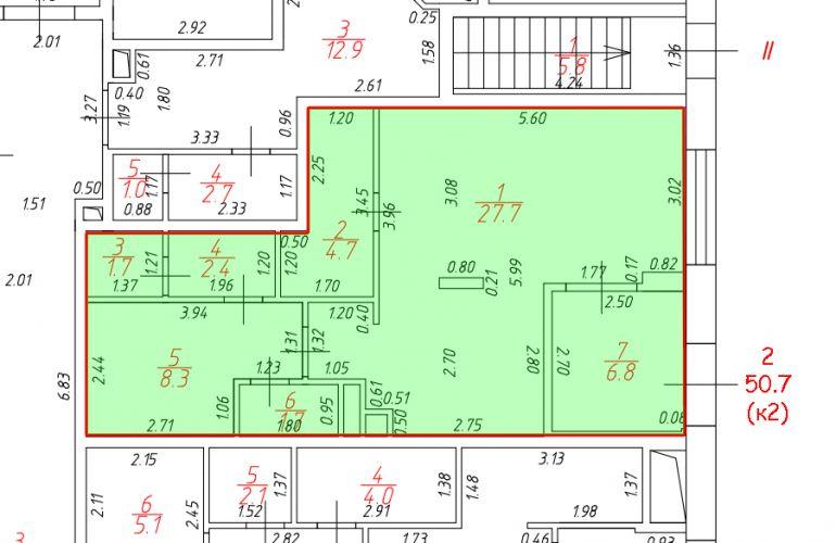 ПСН в ЖК «Лидер Парк», 50,7 м2 за 55 060 руб.