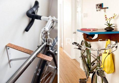 Где можно хранить велосипед в квартире?