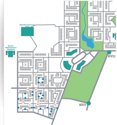 Продажа ПСН в ЖК ««Новогорск Парк»» в городе Химки в микрорайоне Новогорск