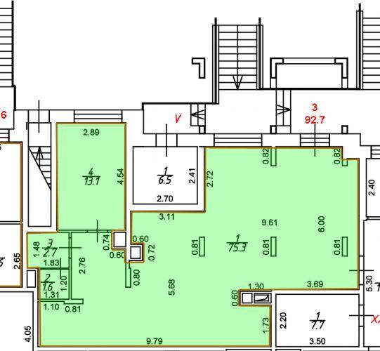 ПСН в ЖК «Лидер Парк Мытищи», 92,7 м2 за 100 580 руб.