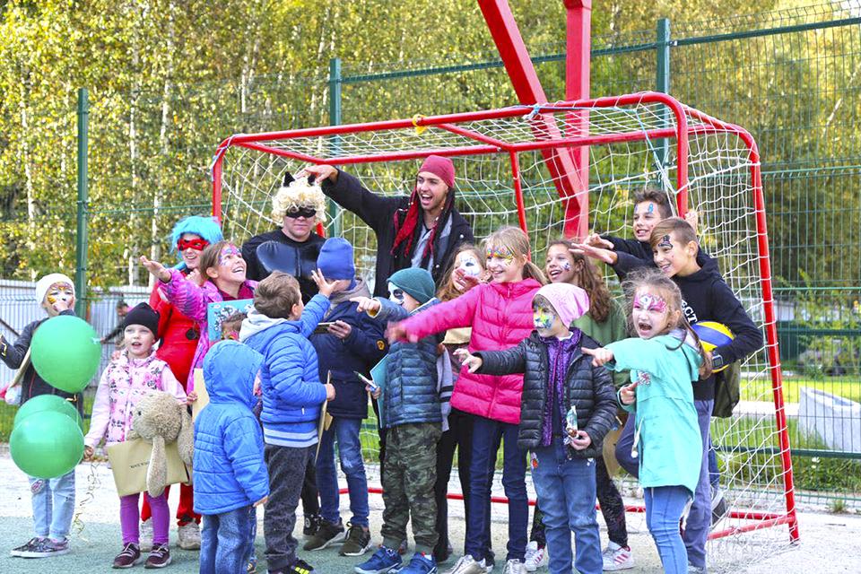Детский праздник в «Новогорск парке»