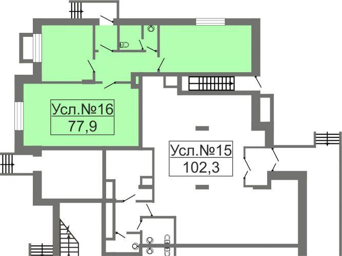 ПСН в ЖК «Лидер Парк Мытищи», 77,9 м2 за 9 348 000 руб.
