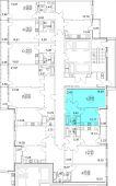 1-комнатная квартира 41.31 м²