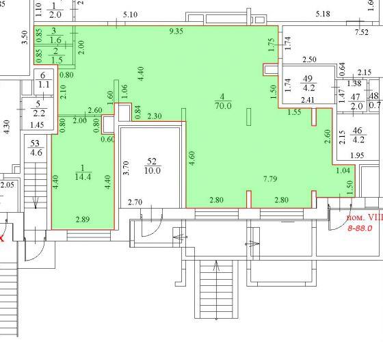ПСН в ЖК «ЖК Лидер Парк Мытищи», 88 м2 за 95 480 руб.