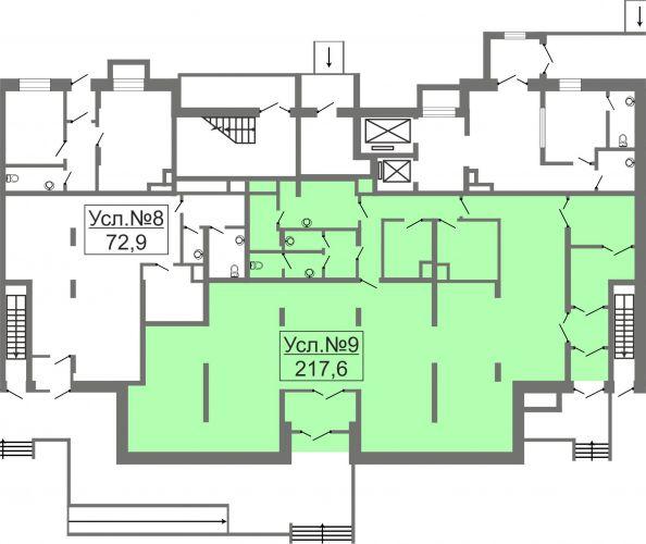ПСН в ЖК «Лидер Парк Мытищи», 217,6 м2 за 26 112 000 руб.
