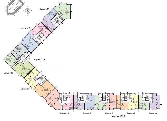 ПСН в ЖК «Скандинавия», 158,6 м2 за 22 448 244 руб.