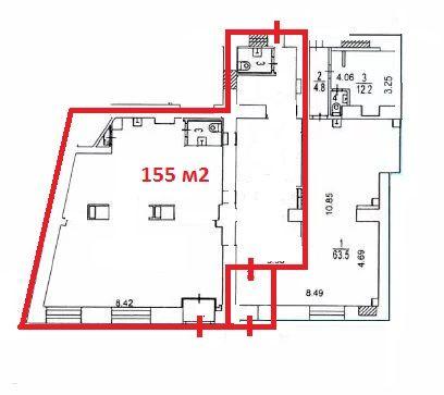 ПСН в нежилом здании, 54 м2 за 499 986 руб.