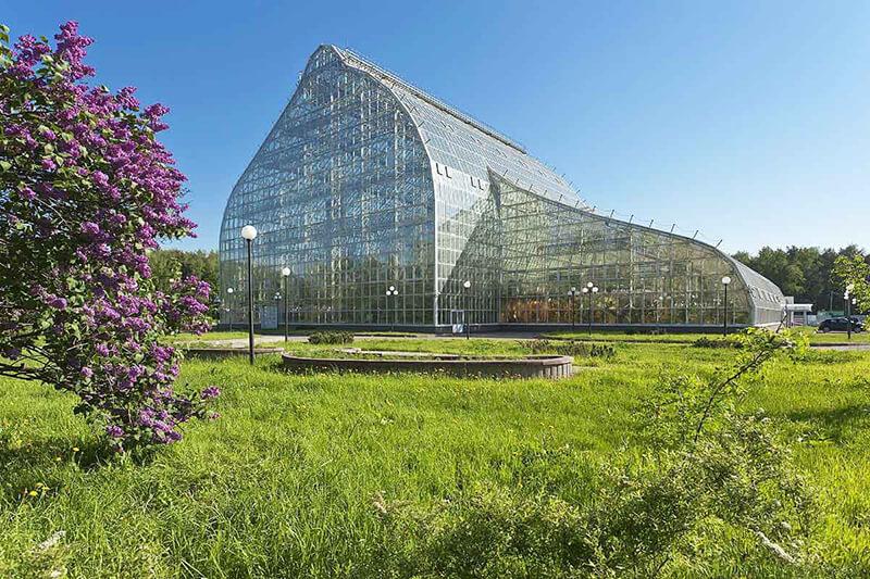Близость Главного ботанического сада