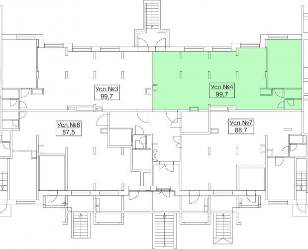 Арендный бизнес в ЖК «Лидер Парк Мытищи», 99,7 м2 за 12 961 000 руб.