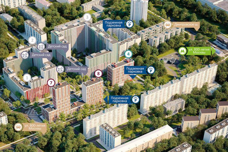 Аренда коммерческой недвижимости в ЖК «Город» в Москве
