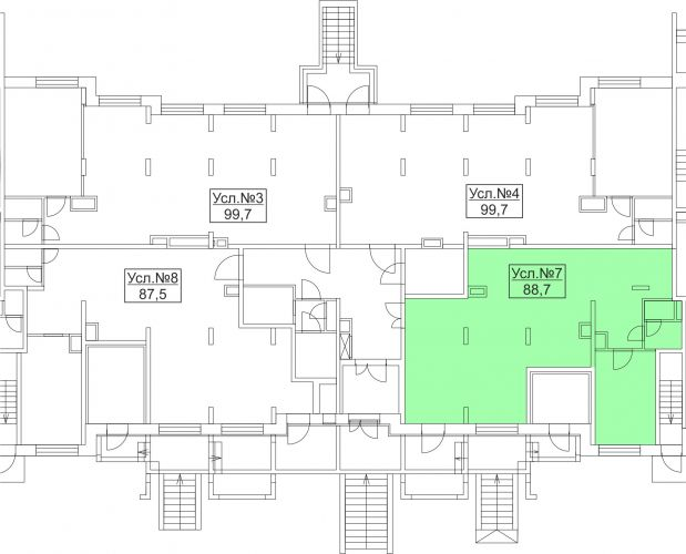 ПСН в ЖК «Лидер Парк Мытищи», 88,7 м2 за 11 531 000 руб.