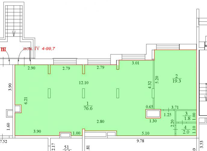 ПСН в ЖК «Лидер Парк Мытищи», 99,7 м2 за 108 175 руб.
