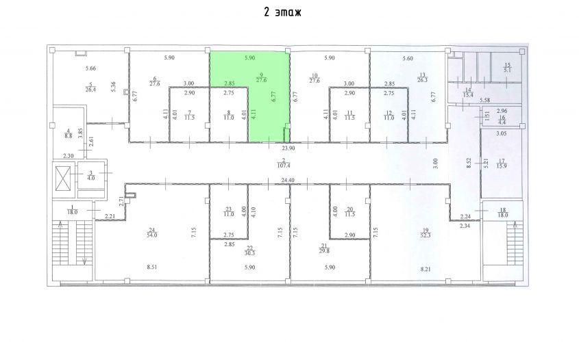 Торговое помещение в ТЦ «Дуэт», 27,6 м2 за 55 200 руб.