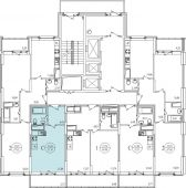 1-комнатная квартира 31.34 м²