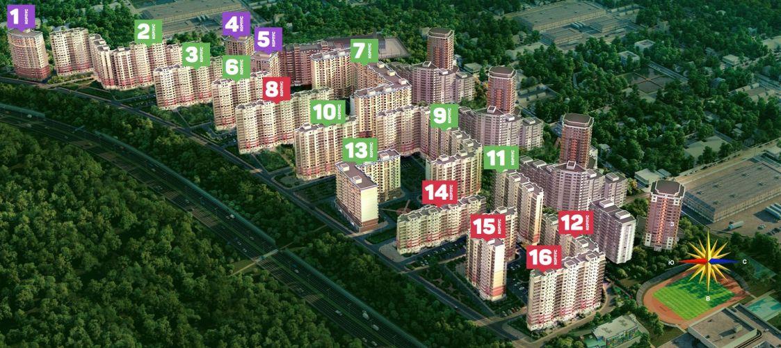 Аренда ПСН в ЖК «Восточный» в городе Звенигород в микрорайоне Восточный