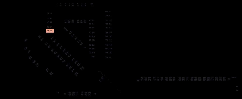 Машиноместа №025/026
