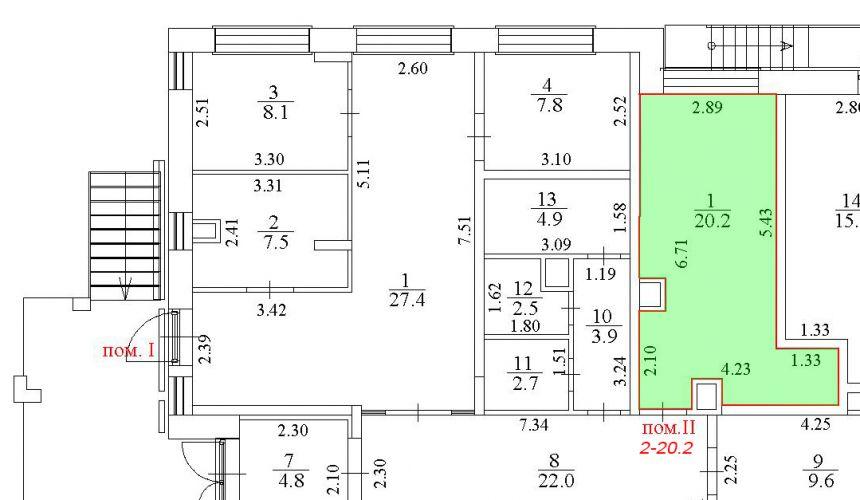 ПСН в ЖК «ЖК Лидер Парк Мытищи», 20,2 м2 за 21 917 руб.